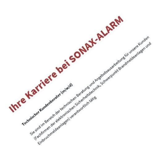 Juni 2019 – Ihre Karriere bei SONAX-ALARM …mehr