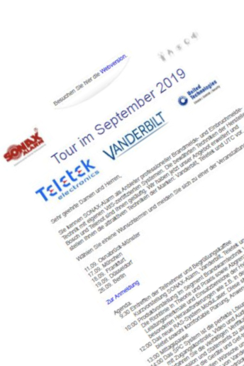 August 2019 – SONAX Tour 2019 …mehr